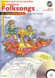 Spiel und Spaß mit der Blockflöte - Die schönsten Folksongs - 2 Sopranblockflöten + CD