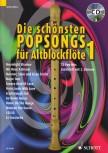 Wingerter, Harald / Beiling, Jan - Die schönsten Popsongs Band 1 - 2 Altblockflöten + CD