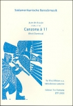 Araujo, Juan de - Canzona á 11 - SAT + SATB + SATB/TBGbSb