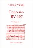 Vivaldi, Antonio - Concerto c-moll RV 107- AAABB/SB