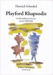 Schnabel, Dietrich - Playford Rhapsodie - Blockflötenorchester