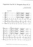 Brahms, Johannes -Ungarischer Tanz Nr. 11- Blockflötenorchester