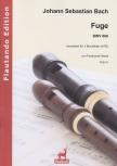 Bach, Johann Sebastian - Fuge B-dur -  BWV 866 - ATB