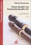 Buxtehude, Dietrich - Kanon und Canzonetta - ATB