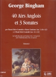 Bingham, George - 40 Airs Anglois et 3 Sonates - Treble and BC