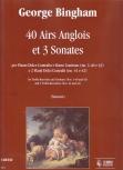 Bingham, George - 40 Airs Anglois et 3 Sonates - Altblockflöte und Basso continuo