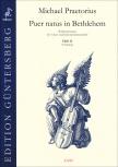 Praetorius, Michael - Puer natus in Bethlehem  11 - 2 Blockflötenquartette  SSAT+SATB
