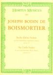 Boismortier, Joseph Bodin de - 6 kleine Suiten aus op. 27 - 2 Altblockflöten