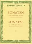 Sonaten alter englischer Meister, Heft 2 - Altblockflöte und Basso continuo