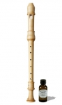 treble recorder Löbner Debey, 415 Hz, europ. boxwood