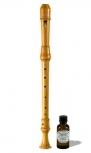 Voice-Flute<br>Margret Löbner<br>Modell J. Chr. Denner<br>415 Hz, europ. Buchsbaum