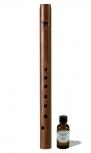soprano recorder Löbner medieval, 466 Hz, maple/plum