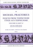 Praetorius, Michael - Tänze aus Terpsichore  - Heft 6  5 Blockflöten