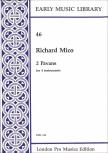 Mico, Richard - 2 Pavans - SSTB