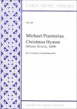 Praetorius, Michael - Christmas Hymns - Blockflötenquartett SATB