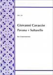 Cavaccio, Giovanni - Pavana + Saltarello - SATB