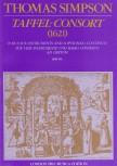 Simpson, Thomas - Taffel-Consort (1621) - SATB / SAAB / SSTB und Bc. ad lib.