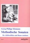Telemann, Georg Philipp - Methodische Sonaten Band 1 - Altblockflöte und Basso continuo