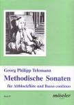 Telemann, Georg Philipp - Methodische Sonaten Band 4 - Altblockflöte und Basso continuo