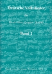 German Folksongs Vol. 2 - recorder quartet - SATB