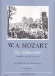 Mozart, Leopold - Die Schlittenfahrt - Blockflötenquartett SATB