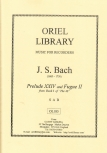 Bach, Johann Sebastian - Praeludium und Fuge - SAB