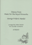 Handel, Georg Friedrich - Dances from Music for the Royal Fireworks - SATBGbSb