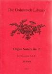 Bach, Johann Sebastian - Orgelsonate Nr. 2 - SAB