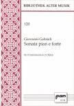 Gabrieli, Giovanni - Sonata pian e forte - SATB+TTTB