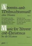 Advents-u. Weihnachtslieder alter Meister  2 - Recorder Quartet SATB
