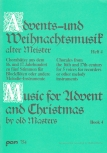 Advents-u. Weihnachtslieder alter Meister - Recorder Quartet  SSATB
