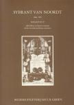Noordt, Sybrant van - Sonate in F - Altblockflöte und Basso continuo