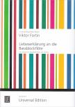 Fortin, Viktor - Liebeserklärung an die Bassblockflöte  - bass recorder and guitar