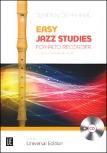 Dehnhard, Tilmann - Easy Jazz Studies  -  Blockflöte und CD