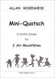 Rosenheck, Allan - Mini-Quatsch - 2 Altblocklöten