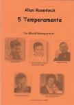 Rosenheck, Allan - 5 temperaments - SATB