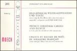 Französische Weihnachtslieder und Tänze - für 3 Blockflöten  SAT