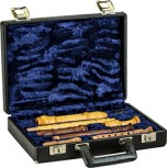 Case For Sopranino, Soprano and Treble Recorder, black