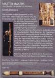 Daniel Brüggen - Master Makers - DVD<br />Film über Blockflötenbauer