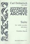 Jacob, Gordon - Suite -  - Klavierauszug Altblockflöte und Klavier