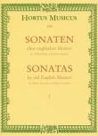 Sonaten alter englischer Meister, Heft 1 - Altblockflöte und Basso continuo