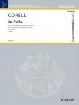 Corelli, Arcangelo - La Follia - Altblockflöte und Basso continuo