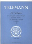 Telemann, Georg Philipp - 36 Fantasien -  Heft 4 AT