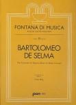 Selma y Salaverde, Bartolomeo de - Drei Canzonen - Sopranblockflöte, Bassinstrument und Bc.