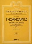 Thornowitz, Henry - Sonate da Camera 1-3  - Altblockflöte und Basso continuo