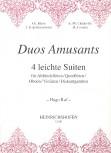 Duos Amusantes - Vier leichte Suiten - 2 Altblockflöten
