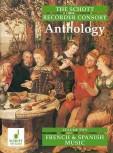 The Schott Recorder Consort Anthology 2 - Musik aus Spanien und Frankreich div. Duo bis Quintett