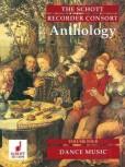 The Schott Recorder Consort Anthology 4 - dance music for  SAT / SATB / SSAT / SAATB / SSATB