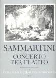 Sammartini, Giuseppe - Konzert F-dur - Klavierauszug Sopranblockflöte und Klavier