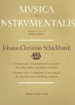 Schickhardt, Johann Christian - Drei Sonaten - Altblockflöte und Basso continuo